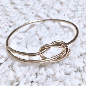Golden Knot Bracelet